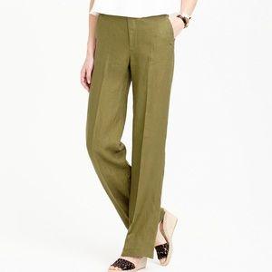J Crew Linen Trouser